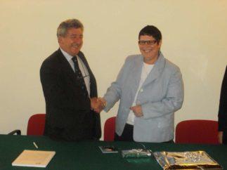Intervento del Presidente Marciano all'incontro con il Presidente dell'ESBA Tina Sommer