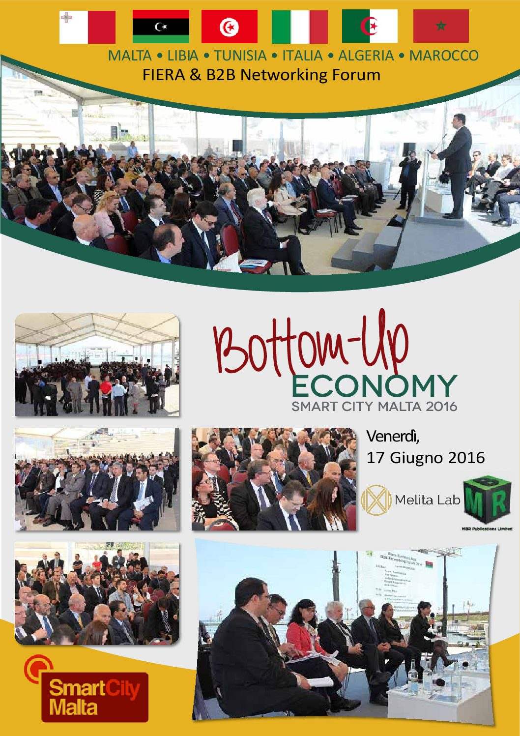 Bottom Up ECONOMY Smart City Malta 2016 17 Giugno