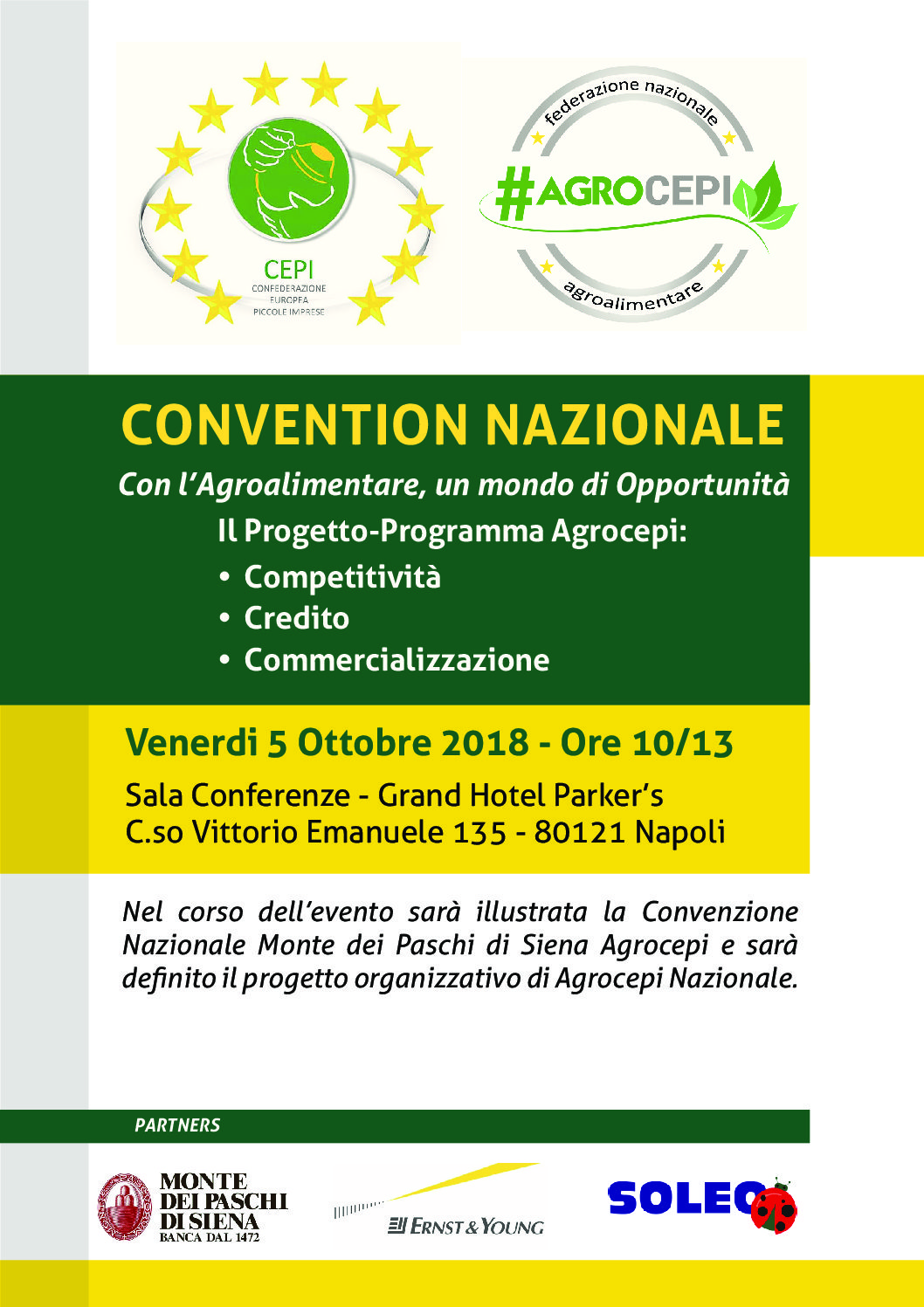 CONVENTION NAZIONALE #AGROCEPI
