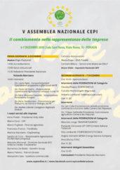 Programma V Assemblea Nazionale CEPI