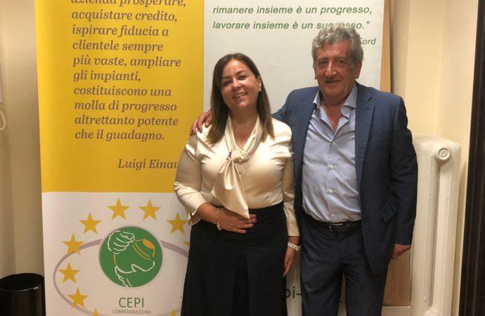 IL CAMBIAMENTO NELLA RAPPRESENTANZA DELLE IMPRESE – Conferenza Stampa presentazione V Assemblea CEPI a Perugia con Agea e Marciano